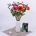 voordelige Kunstbloemen-Kunstbloemen 1 Tak Klassiek Europees Pastoraal Stijl Chrysant Bloemen voor op tafel