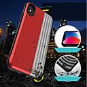 رخيصةأون أغطية أيفون-غطاء من أجل Apple iPhone XS / iPhone XR / iPhone XS Max حامل البطاقات / ضد الصدمات / مع حامل غطاء خلفي نموذج هندسي / درع قاسي الكمبيوتر الشخصي