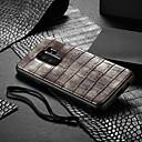 povoljno Naušnice-Θήκη Za Samsung Galaxy S9 Plus Otporno na trešnju / Uzorak Stražnja maska Jednobojni Tvrdo PU koža