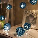 povoljno LED svjetla u traci-3M Žice sa svjetlima 20 LED diode Toplo bijelo Ukrasno 220-240 V 1set