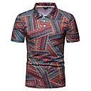 povoljno Muški satovi-Veličina EU / SAD Polo Muškarci Dnevno Geometrijski oblici Kragna košulje Slim Duga / Kratkih rukava