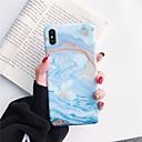 رخيصةأون أغطية أيفون-غطاء من أجل Apple iPhone XS / iPhone XR / iPhone XS Max IMD / مثلج / نموذج غطاء خلفي حجر كريم ناعم TPU