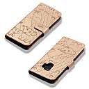 رخيصةأون حافظات / جرابات هواتف جالكسي S-غطاء من أجل Samsung Galaxy S9 / S9 Plus / S8 Plus محفظة / حامل البطاقات / مع حامل غطاء كامل للجسم فيل قاسي جلد PU