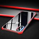 رخيصةأون أغطية أيفون-غطاء من أجل Apple iPhone XS / iPhone XR / iPhone XS Max ضد الصدمات / شفاف غطاء خلفي لون سادة ناعم TPU