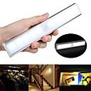 povoljno LED noćna rasvjeta-1pc 100 lm 10 LED zrnca Svjetlosni senzori Infracrveni senzor Jednostavna instalacija LED svjetla za ormariće Toplo bijelo Bijela Za dom / ured Za kuhinju Za spavaću sobu / RoHs / CE