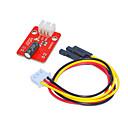 ieftine Colier la Modă-ky0040 Modul comutator cu bilă (roșu) alb, cu fir de 3 pini dupont
