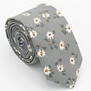 رخيصةأون ربطات عنق-ربطة العنق ورد / طباعة رجالي حفلة / عمل / رياضي Active