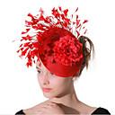 ieftine Bijuterii de Păr-Pentru femei femei Vintage Petrecere Elegant Pană Material Textil Tiare Nuntă Party / Seara - Floral / Supradimensionat