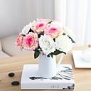 رخيصةأون أزهار اصطناعية-زهور اصطناعية 1 فرع فردي الحديث المعاصر النمط الرعوي الورود أزهار الطاولة