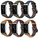 povoljno Remenje za Fitbit satove-Pogledajte Band za Fitbit Charge 3 Fitbit Moderna kopča Prava koža Traka za ruku