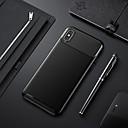 povoljno Zaštita zaslona za iPhone XR-Θήκη Za Apple iPhone XS / iPhone XR / iPhone XS Max Otporno na trešnju / Ultra tanko Stražnja maska Jednobojni Mekano TPU / Carbon Fiber