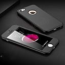 رخيصةأون الأساور الذكية-غطاء من أجل Apple iPhone XS / iPhone XR / iPhone XS Max ضد الصدمات غطاء كامل للجسم لون سادة قاسي الكمبيوتر الشخصي