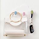 رخيصةأون خزانة غرفة النوم و المعيشة-بلاستيك بيضوي إبداعي / بديع الصفحة الرئيسية منظمة, 1PC خطاف حمام / خطاف المطبخ / خطاف الحائط