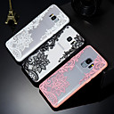 cheap Galaxy S Series Cases / Covers-Case For Samsung Galaxy S9 / S9 Plus / S8 Embossed / Pattern Back Cover Lace Printing Hard PC