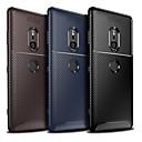 رخيصةأون Sony أغطية / كفرات-غطاء من أجل Sony Xperia XZ2 Compact / Sony Xperia XZ2 Premium / Sony Xperia XZ3 ضد الغبار غطاء خلفي لون سادة / خطوط / أمواج ناعم TPU