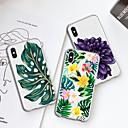 رخيصةأون حافظات / جرابات هواتف جالكسي S-غطاء من أجل Apple iPhone XS / iPhone XR / iPhone XS Max نموذج غطاء خلفي النباتات / زهور ناعم TPU