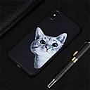 رخيصةأون أغطية أيفون-غطاء من أجل Apple iPhone XS / iPhone XR / iPhone XS Max مثلج / نموذج غطاء خلفي قطة ناعم TPU