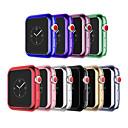 رخيصةأون أساور ساعات هواتف أبل-غطاء من أجل Apple Apple Watch Series 3 / Apple Watch Series 2 / Apple Watch Series 1 سيليكون Apple