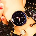 povoljno Muški satovi-Žene Ručni satovi s mehanizmom za navijanje Kvarc Koža Crna / Crvena / Smeđa Vodootpornost Kreativan Analog Moda Šarene - Crvena Zelen Pink
