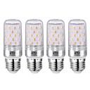 povoljno Svjetlosne šipke-YWXLIGHT® 4kom 12 W LED klipaste žarulje 1200 lm E26 / E27 60 LED zrnca SMD 2835 Toplo bijelo Hladno bijelo 85-265 V