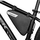 povoljno LED svjetla u traci-1.5 L Bike Frame Bag Triangle Frame Bag Vodootporno Prijenosno Podesan za nošenje Torba za bicikl 600D poliester Torba za bicikl Torbe za biciklizam Vježbanje na otvorenom Bicikl