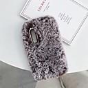 رخيصةأون أغطية أيفون-غطاء من أجل Apple iPhone XS / iPhone XR / iPhone XS Max اصنع بنفسك غطاء خلفي حيوان ناعم منسوجات