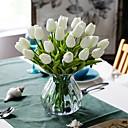 رخيصةأون أزهار اصطناعية-زهور اصطناعية 10 فرع كلاسيكي أوروبي أسلوب بسيط أزهار التولب أزهار الطاولة