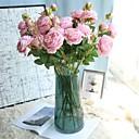 voordelige Matten & Kleedjes-Kunstbloemen 1 Tak Klassiek Klassiek Europees Pioenen Bloemen voor op tafel