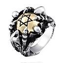 رخيصةأون خواتم-رجالي خاتم البيان 1PC فضي سبيكة هدية مناسب للبس اليومي مجوهرات سحر كوول