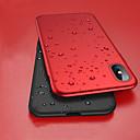 رخيصةأون أغطية أيفون-غطاء من أجل Apple iPhone XS / iPhone XR / iPhone XS Max ضد الصدمات / نحيف جداً / مثلج غطاء كامل للجسم لون سادة قاسي الكمبيوتر الشخصي