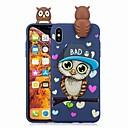 رخيصةأون أغطية أيفون-غطاء من أجل Apple iPhone XS / iPhone XR / iPhone XS Max نموذج غطاء خلفي كارتون / بوم ناعم TPU