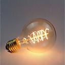 povoljno LED klipaste žarulje-1pc 40 W E26 / E27 G80 Žuto 2300 k Retro / Zatamnjen / Ukrasno Žarulja sa žarnom niti Edison 220-240 V