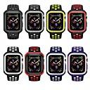voordelige Echte draadloze oordopjes-Horlogeband voor Apple Watch Series 5/4/3/2/1 / Apple Watch Series 4 Apple Sportband Silicone Polsband