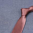 povoljno Muške košulje-Muškarci Prugasti uzorak Posao Kravata