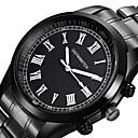 ieftine Căști-Bărbați Ceas Sport Ceas Elegant Ceas de Mână Quartz Oțel inoxidabil Negru Rezistent la Șoc Ceas Casual Analog Lux Modă - Negru Negru / Alb Un an Durată de Viaţă Baterie