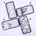 رخيصةأون أغطية أيفون-غطاء من أجل Apple iPhone XS / iPhone XR / iPhone XS Max نموذج غطاء خلفي آحادي القرن / حيوان / كارتون ناعم TPU