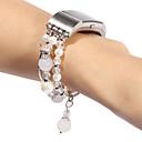 رخيصةأون أغطية أيفون-حزام إلى Fitbit Charge 2 فيتبيت تصميم المجوهرات جلد طبيعي شريط المعصم