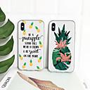 voordelige iPhone-hoesjes-hoesje Voor Apple iPhone XS / iPhone XR / iPhone XS Max Patroon Achterkant Fruit Zacht TPU