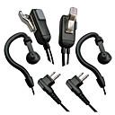 ieftine Walkie Talkies-walkie-talkie pentru căști cu două căi radio Motorola cu microfon ptt g gât de căști 2 pini de înaltă calitate 2pcs