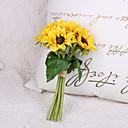 رخيصةأون أزهار اصطناعية-زهور اصطناعية 6 فرع كلاسيكي أنيق أوروبي عباد الشمس أزهار الطاولة
