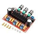 ieftine Becuri LED Glob-xh-m139 Placă de amplificare a puterii digitale pe 2 canale 12v-24v tensiune largă tpa3116d2 2 * 50w