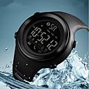 رخيصةأون ساعات الرجال-SKMEI رجالي ساعة رياضية رقمي سيليكون مطاط أسود / جاد 50 m مقاوم للماء بلوتوث رزنامه رقمي كاجوال موضة - أزرق أسود وأبيض كاكي