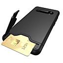 povoljno Maske/futrole za Galaxy S seriju-Θήκη Za Samsung Galaxy S9 / S9 Plus / S8 Plus Utor za kartice / sa stalkom Stražnja maska Jednobojni Tvrdo TPU