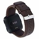 رخيصةأون أساور ساعات FitBit-حزام إلى Fitbit Versa فيتبيت بكلة كلاسيكية جلد طبيعي شريط المعصم