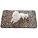 voordelige Apple Watch-bandjes-Honden Katten Molton Hoeslaken bedden Handdoeken Dekens dekens Textiel Binnenwerk Houd Warm Vouwbaar Zacht Luipaard Personage Zebra Wit Zwart Luipaard
