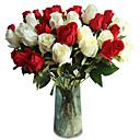 رخيصةأون أزهار اصطناعية-زهور اصطناعية 5 فرع كلاسيكي التقليدية / الكلاسيكية أوروبي الورود الزهور الخالدة أزهار الطاولة
