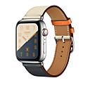 رخيصةأون أغطية أيفون-حزام إلى أبل ووتش سلسلة 5/4/3/2/1 Apple بكلة كلاسيكية جلد طبيعي شريط المعصم