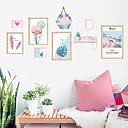 رخيصةأون أزهار اصطناعية-لواصق حائط مزخرفة - لواصق / ملصقات الحائط الحيوان حيوانات / 3D دورة المياه / غرفة الطعام / غرفة دراسة / مكتب