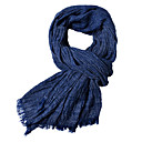 cheap Men's Necklaces-Men's Basic Rectangle Scarf - Solid Colored
