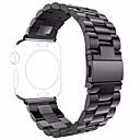 povoljno Remeni za sat-Nehrđajući čelik Pogledajte Band Remen za Crna 19cm / 7,48 inča 2.4cm / 0.94 Palac